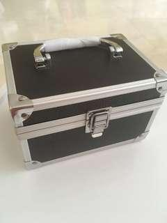 Makeup Box black and silver