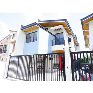 ELEGANTLY FINISHED SINGLE ATTACHED HOUSE AND LOT IN PILAR VILLAGE
