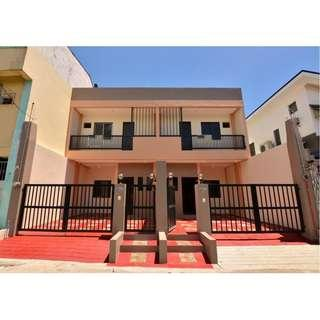 FOR SALE BRAND NEW DUPLEX HOUSE AND LOT IN PILAR VILLAGE