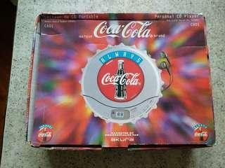 可囗可樂 CD機 (Coca-cola personal CD player)