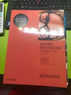 Oxford Psychology Unit 3 and 4 workbook