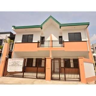 CORNER DUPLEX MODERN DESIGN HOUSE AND LOT IN PILAR VILLAGE