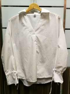 White blouse top