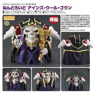 Nendoroid 631 Overlord - Ainz Ooal Gown (Re-stocks)