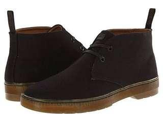 Doc Martens Maypoint Black Canvas Boot - Size 11US - Free Post