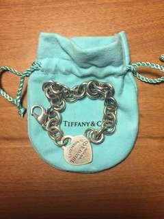 Authentic Tiffany & Co Heart Tag Bracelet