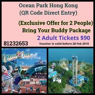 Ocean Park Hong Kong (QR Code Direct Entry)