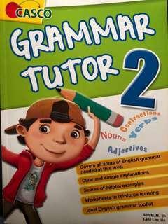 🚚 P2 grammar tutor book