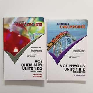 CHECKPOINT UNIT 1&2 PHYSICS & CHEMISTRY