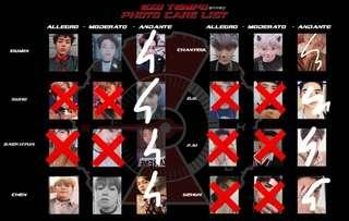[WTS/PREORDER] EXO DONT MESS UP MY TEMPO OFFICIAL PHOTOCARD