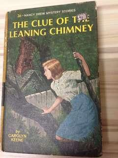 Nancy Drew #26: The Clue of the Leaning Chimney