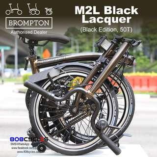 BROMPTON M2L Black Lacquer (Black Edition 2019), 50T