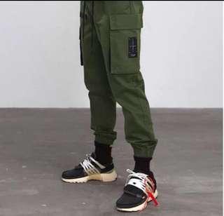 🇺🇸歐美Streetwear新款寬鬆工裝褲 (多色選擇)