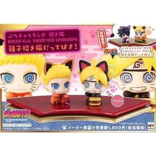 Petit Chara Land Manekineko Boruto Naruto Next Generations - Oyako Manekineko Dattebasa!
