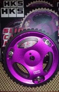 cam gear pulley Hks purple for car Evo123 engine
