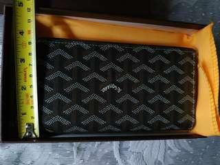 Goyard long wallet original / authentic unisex