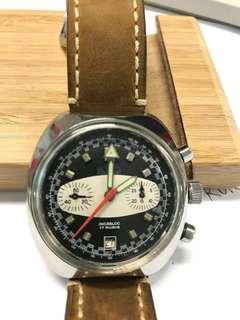 RUGAU 手上鍊古董錶
