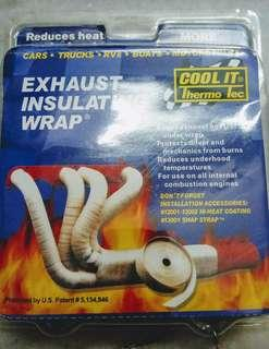 thermo wrap heavy duty cool it for car exhaust