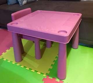 Brand new! Kids table and chair