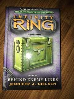 Infinity Ring #6 Behind Enemy Lines by Jennifer A. Nielsen