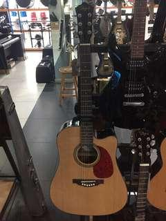 Bisa Dicicil Skylark E/Acoustic Guitar