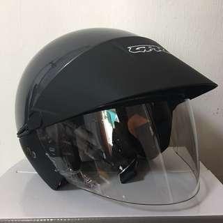 GPR Metallic Grey Helmet