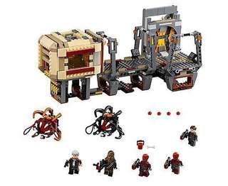 Lego Rathtar Escape set