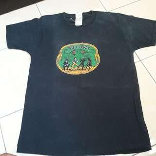 The Pogues Punk Band singles Cover shirt