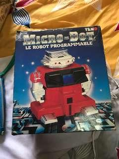Vintage tiger micro bot loose with box never test