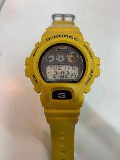 G-shock G-6900A 黃色光動能69