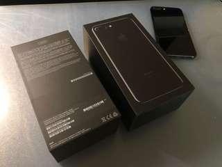 Iphone 7+ 128gb jet black used