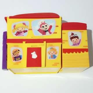 Jollibee lunchbox with insulated bag