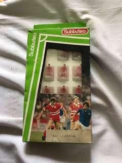 Vintage subbuteo soccer 63000 set