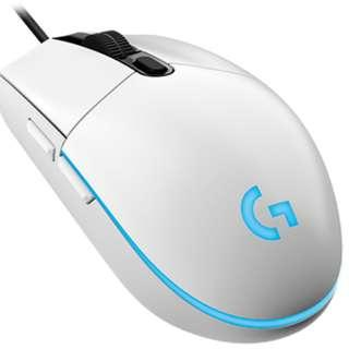 Logitech G102 Prodigy Gaming Mouse (White ONLY)