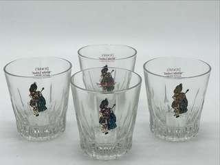 "DEWAR'S ""White Label"" Scotch Whisky Glass"