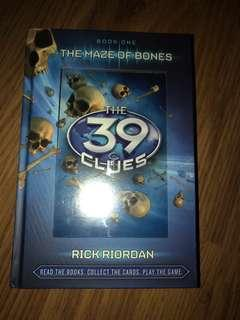 The 39 Clues #1 The Maze of Bones by Rick Riordan
