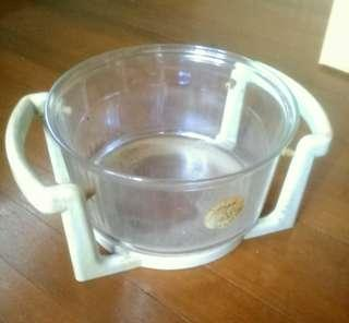 """ARCOPAL FRANCE Turbo Glass 13"""" With Holder"""