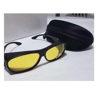 847b11062c9 CNY new look ~ Yellow Night Vision Polarized Sunglasses Glasses NIGHT  VISION