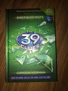 The 39 Clues #2 One False Note by Gordon Korman