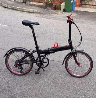 Travelo FS-V Shimano Deore 10 Speed Foldable bike