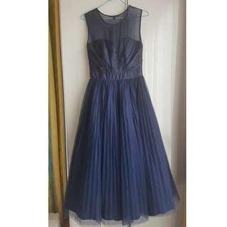 Coast Blue Cocktail Dinner Dress Gown