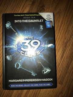 The 39 Clues #10 Into the Gauntlet by Margaret Peterson Haddix