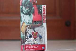 "🚚 Transformers Classic G1 STARSCREAM 3"" Legion class toy action figure"