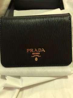 BNIB authentic Prada Vitello move black wallet