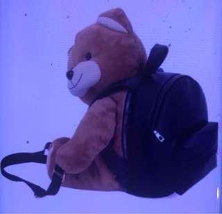 Korean fashion bear bag backpack