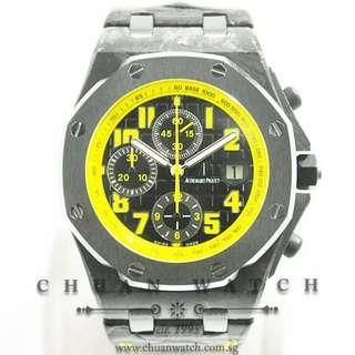 Pre-Owned Audemars Piguet Royal Oak Offshore Bumblebee 42mm 26176FO - Discontinued