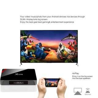 Tv Box Small Digital Display 1 + 8G Remote Control 2+16G Multi-Language 3 Plugs