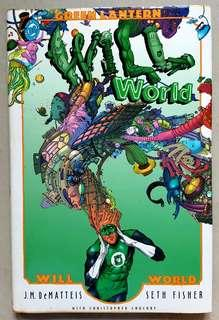 GREEN LANTERN: WILL WORLD (HARD COVER)