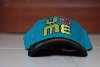 🚚 WWE Authentic John Cena Blue Throwback U Can't See Me Baseball Cap Hat