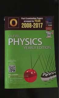 physics ten year series yearly , physics tys